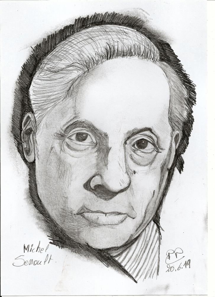 Michel Serrault by Patoux